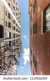 Alleyway Sky View