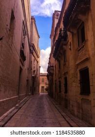 Alleyways of the Silent City - Mdina, Malta - March 2016