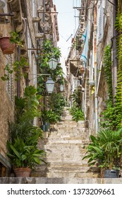 Alleyways and stairs in Dubrovnik