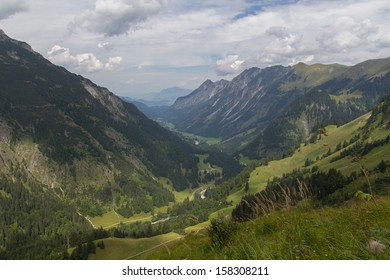 Allgaeu Alps, Oberstdorf, Bavaria, Germany