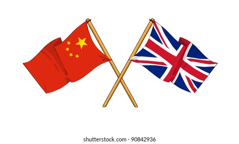 Alliance and friendship between China and United Kingdom
