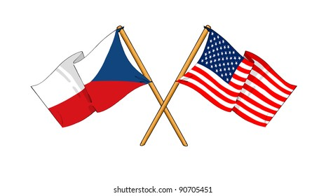 Alliance and friendship between Czech Republic and USA