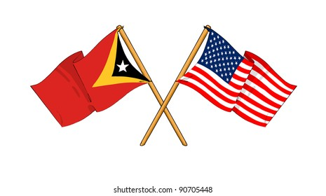 Alliance and friendship between East Timor and USA