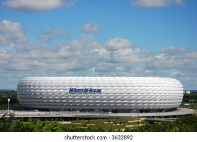 """Allianz"" Arena Munich horizontal"