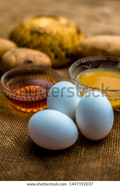 All-rounder hair growth remedy which will act as a conditioner as well as a hair growth promoter i.e. Potato juice well mixed with honey and egg yolk.