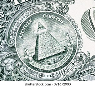 all-seeing eye on the dollar