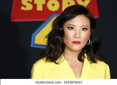 Ally Maki at the World premiere of 'Toy Story 4' held at the El Capitan Theater in Hollywood, USA on June 11, 2019.