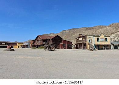 ALMERIA, ANDALUSIA/SPAIN, September 3, 2015: Fort Bravo is a western town in the Tabernas desert, for a movie theater, especially  west films