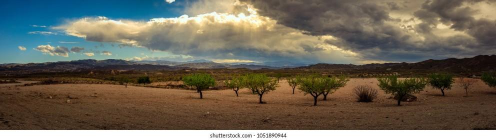 Almeria Landscape pano
