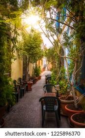 Almeria street cafe