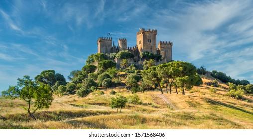 Almodovar del Rio Castle, in the province of Cordoba, Andalusia, Spain.