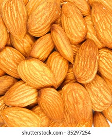 Almond abstract background
