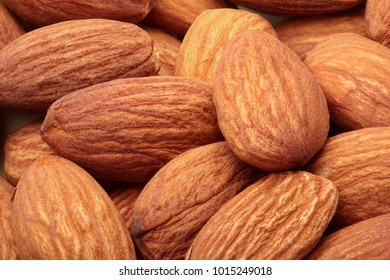 Almond. Almonds macro. Almonds background. Almond nuts.Almond nuts texture closeup