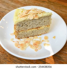 Almond banana cake