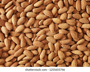 Almond and mixed snacks in sacks