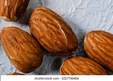 almond nuts close-up