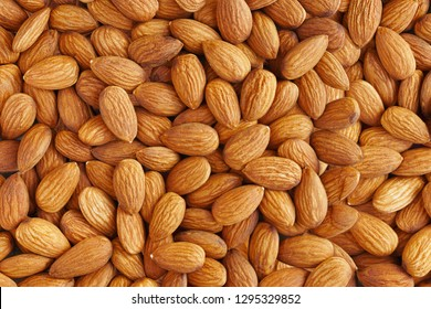 Almonds. Almond Kernels for Background or Texture