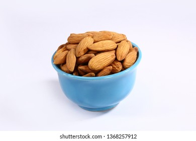 Almonds in Glass, Fresh Dry Fruit