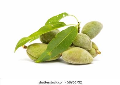 almonds greens