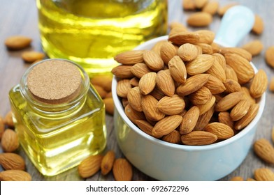 Almonds, Almonds oil