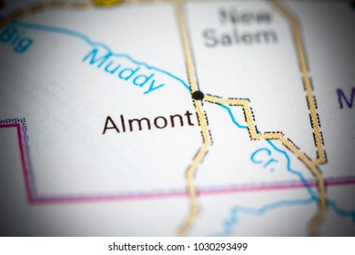 Almont Michigan Usa On Map Stock Photo Edit Now 1179575398