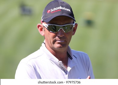 ALOHA GOLF COURSE, MARBELLA, SPAIN - MARCH 14 :  Markus Brier (AUT) at Andalucia Open, Golf European Tour, March 14, 2012, at  Alhoa Golf Club, Marbella, Spain.