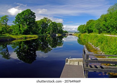 Along the Caledonian Canal, Scotland