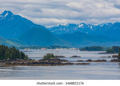 From along the Inside Passage route