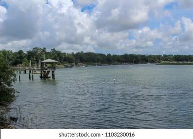 Along the Water in Bluffton South Carolina