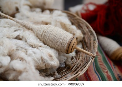 Alpaca Wool Spool, Peru