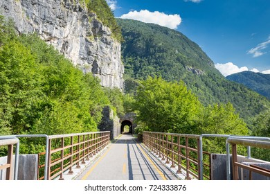 Alpe Adria cycle path, Italy