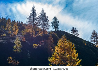 alpe devero autumn mountain landscape