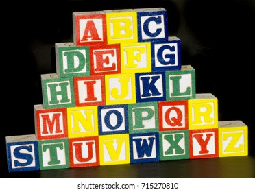 Alphabet Blocks from A to Z