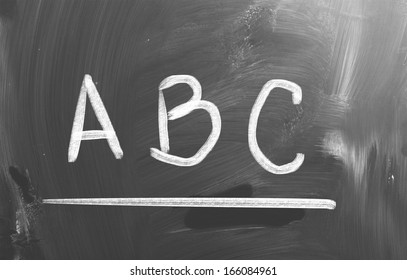 Alphabet Concept