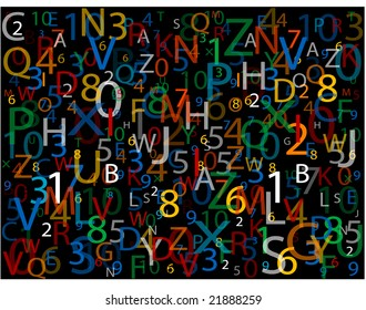 Alphabet and Number