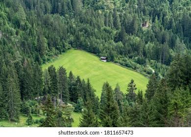 Alpine landscape in Carynthia, Austrian alps