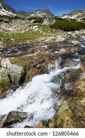 Alpine landscape in National Park Retezat, Romania, Europe