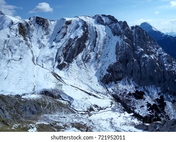alpine mountains landscape
