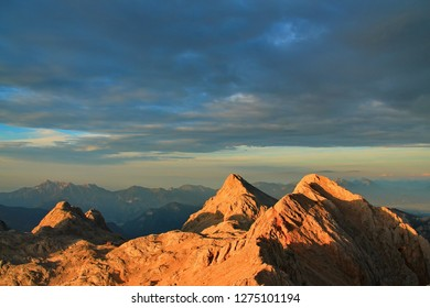 Alpine mountains rising to the sky - Shutterstock ID 1275101194