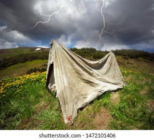 Tent Storm Images, Stock Photos & Vectors | Shutterstock