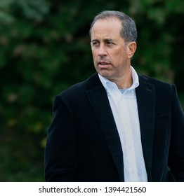 Alpine, New Jersey / USA - October 15 2018 Jerry Seinfeld