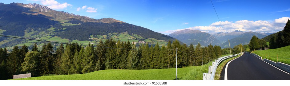 Alpine panorama