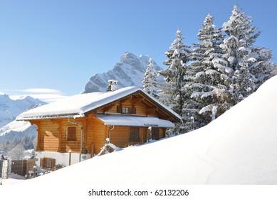 Alpine scenery. Switzerland