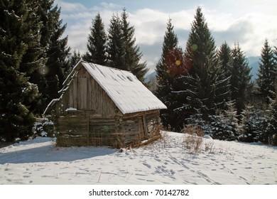 Alpine scenery.Colibita.Romania