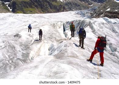 Alpinist group