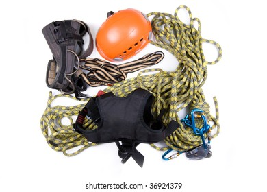 Alpinist, mountain climber, or ropejumper tools kit -