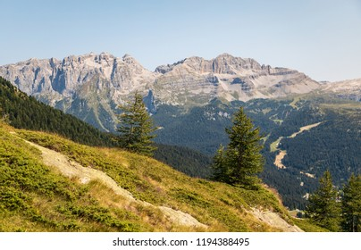 Alps around Madonna de Campiglio