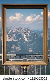 Alps in the art frame