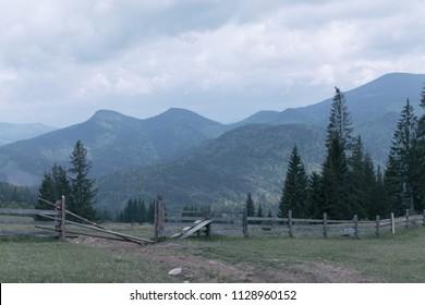 Alps Mountain Landscape