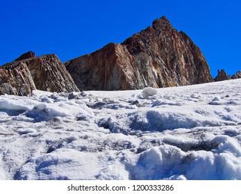 Alps mountains France la Graves